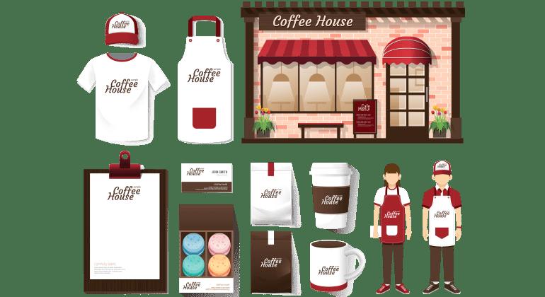 Les objets publicitaires dédiés aux cafés, restaurants et hôtels