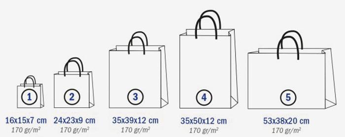 tailles-sac-papier-brillant-bayamo-objetrama